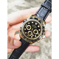 Rolex Fashion New Couple Casual Business Sport Movement Lovers Watch