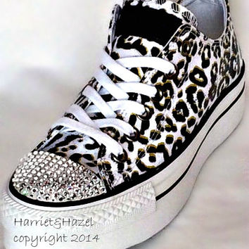 Converse Chuck Taylor® All Star® Platform in Cheetah print with Swarovski  crystal details 5db2c634e5