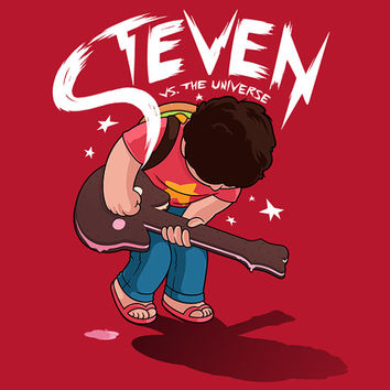 Steven Vs. the Universe - Steven Universe Shirt | Scott Pilgrim Shirt | T-shirt for Women Men | Funny t-shirt for kids
