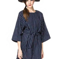 Oversize Striped Dress