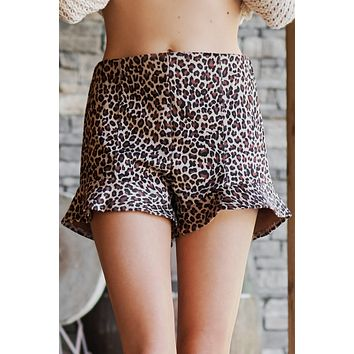Doing Things My Way Shorts (Taupe)