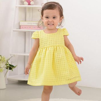 Summer Baby Girls Dress,Fashion Thin Cotton Short Sleeve princess Dress,Brand Kids Dresses,Children Clothes ( 6 moths-3 yrs )