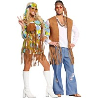60's Hippies Couples Costumes