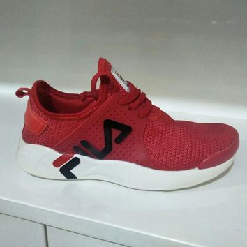 fila fashion casual elasticity unisex sneakers couple running shoes