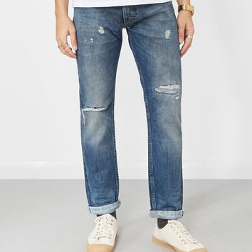 Lee 101 Rider Jeans Light Blue