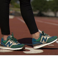 """""""New balance"""" Leisure shoes running shoes men's shoes for women's shoes couples N word  Green blue beige"""