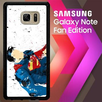 Dc Comics Superman V1099 Samsung Galaxy Note FE Fan Edition Case