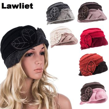 Women Winter Hat Multicolor Wool Female Skullies and Beanies Hat for Women Cloche Bucket Ladies Hats Autumn Winter Cap A375