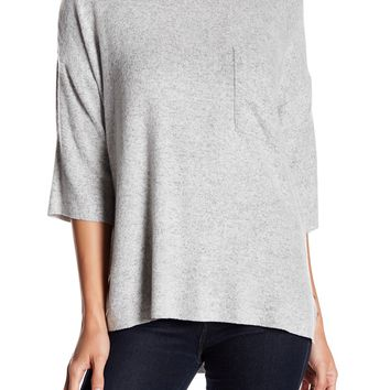 FOR THE REPUBLIC | 3/4 Length Sleeve Front Pocket Knit Pullover | Nordstrom Rack