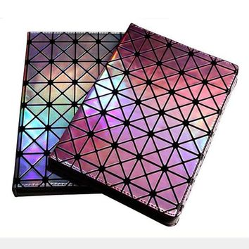 Luxury Colorful Bling Laser Diamond Flip Stand Leather Case Smart Cover For ipad mini 1/2/3 Retina 4 ipad 2 3 4 Air 1 2 Shell