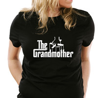 The Grandmother T-Shirt Gifts for mom DTG mothers Day Christmas Gift Grandma Tee Shirt Tshirt Mens Womens Kids MADLABS ML-459