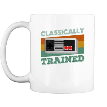 Graphic Classical Trained Video Games Gift Mug