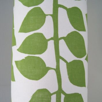 Large Green Stem and Leaf Lamp Shade by Jeannemcgee on Etsy