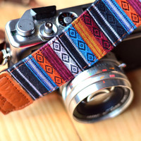 iMo Tibet Fish Camera Strap suits for DSLR / SLR with Quick Release Buckles