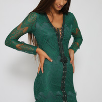 Kerryn Dress - Green