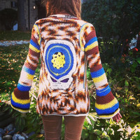 Grateful Dead Sweater, Made to Order steal your face Jacket