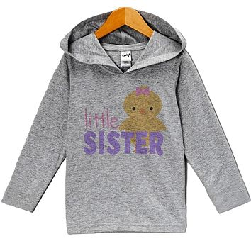 Custom Party Shop Baby Girls' Little Sister Hoodie Pullover