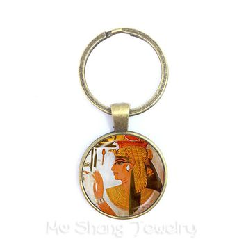 Lord Ganesh Ganesha Keyring God of Fortune Pendant Hindu Elephant KeyHolder Buddha Meditation Spiritual Art Jewelry For Women Me