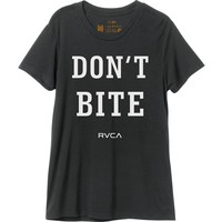 RVCA Don't Bite T-Shirt - Short-Sleeve - Women's