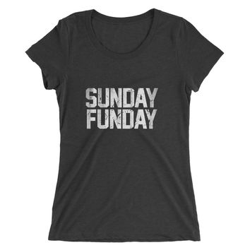 Sunday Funday Vintage Tri-Blend T-Shirt