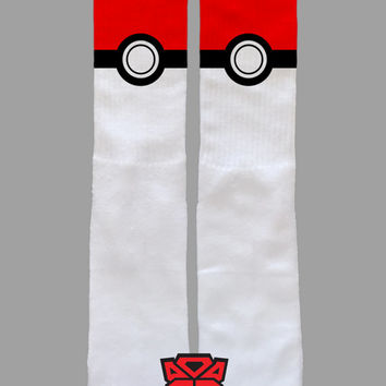 Pokeball - Pokemon - Custom Socks - Socktimus Prime