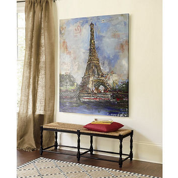 Eiffel Tower Collage Giclee - Large | Ballard Designs