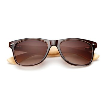 The Classical Bamboo Sunglasses Brown