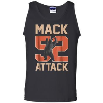 Mack Attack 52 Chicago Football  New Player Tee Tank Top