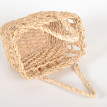 Light Basket with handles Handmade Eco friendly Home decoration Box Gift ideas