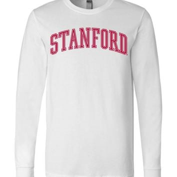 Official NCAA Stanford University Cardinal SU The Stanford Tree ALL RIGHT NOW! Long Sleeve T-Shirt - stan1001-b