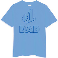 Number one 1 DAD Jerry Seinfeld Sienfeld Father's by CasualApparel