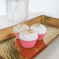The Cupcake Bath Bomb - White Icing