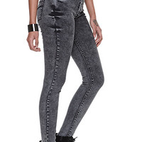 Bullhead Denim Co High Rise Acid Wash Skinniest Jeans at PacSun.com