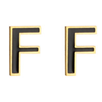 Fendi Fashion New F Letter Long Earring Women Accessories Golden