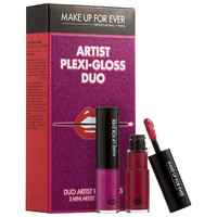 MAKE UP FOR EVER Artist Plexi - gloss Duo  (2 x 0.1 oz)