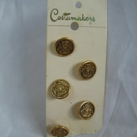 Costumakers Gold Buttons