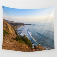 Big Sur, California Coast Wall Tapestry by leahdaniellle