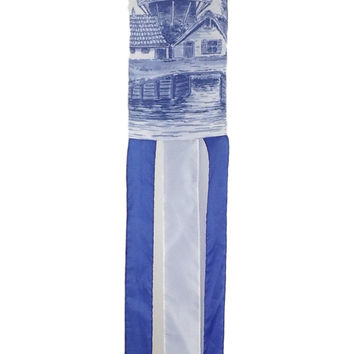 Holland Wind Sock: Windmill