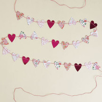 Work of Heart Paper Garland