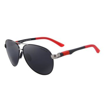 Two Color Accent Polarized Sunglass