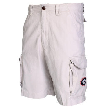 Georgia Bulldogs Backspin Cargo Shorts – Khaki