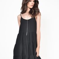 Lightweight Tiered Babydoll dress