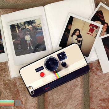 Retro Instant Camera, Custom Phone Case for iPhone 4/4s, 5/5s, 6/6s, 6/6s+ and iPod Touch 5