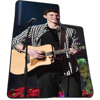 Shawn Mendes perfomr 33cbc19e-344a-433d-8b8a-c78cd9215133 for Kids Blanket, Fleece Blanket Cute and Awesome Blanket for your bedding, Blanket fleece *AD*