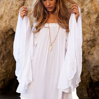 Kamani tunic in white