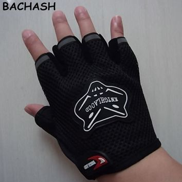 Kids Gloves Workout Body Building kids Gloves Anti Slip Bar Grips Power Exercise Half Finger Mittens Boys Girls Mittens