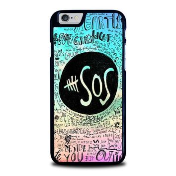 5 SECONDS OF SUMMER 3 5SOS iPhone 6 / 6S Case Cover