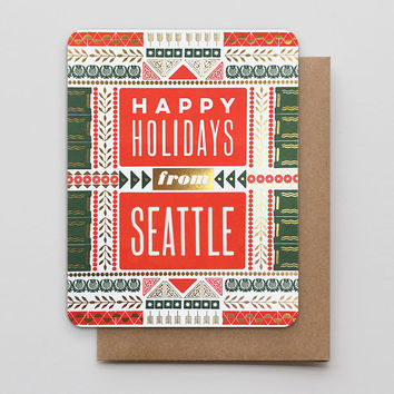 Happy Holidays from Seattle