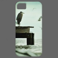 Great Blue Heron iPhone Case iPhone 5 Cover from Zazzle.com