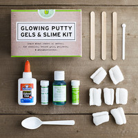 Glowing Putty Gels & Slime Kit